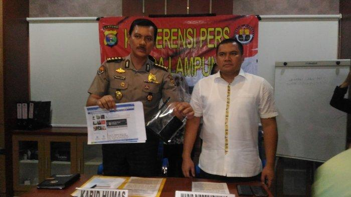 IRT di Lampung Sebar Hoaks Virus Corona Pakai 1 Ponsel Merek Terkenal