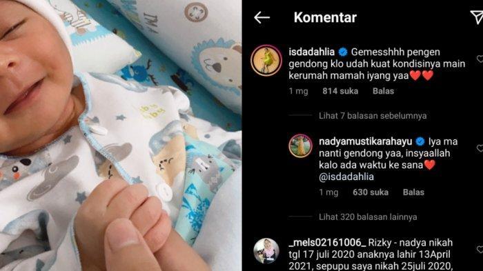Komentar Iis Dahlia di postingan Nadya Mustika
