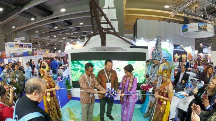 Gubernur Ridho Promo Wisata Lampung di BIT Milano Italia, Targetkan 300 Ribu Wisatawan pada 2019