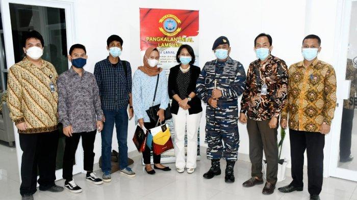 Itera dan Pangkalan TNI AL Lampung Siap Kerja Sama Pendidikan dan Penelitian