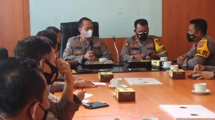 Itwasda Polda Lampung Sambangi Polres Lampung Tengah