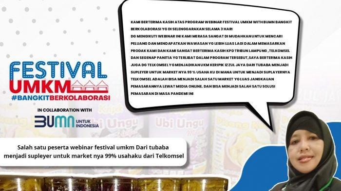 Ditunjuk Jadi Suplayer Telkomsel Berkat Webinar Tribun, Owner Izzul Jaya Senang