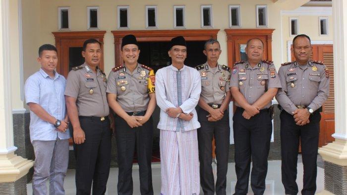 Jabat Kapolres Lampung Barat, AKBP Rachmat Tri Haryadi Silaturahmi ke Tokoh Agama dan Masyarakat