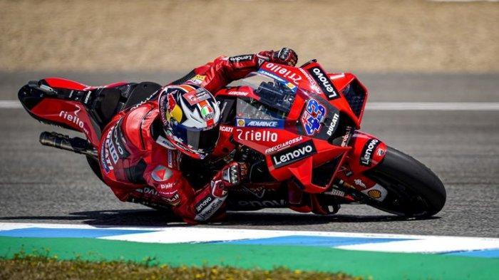 Hasil MotoGP Spanyol 2021, Jack Miller Asapi Bagnaia dan Morbidelli