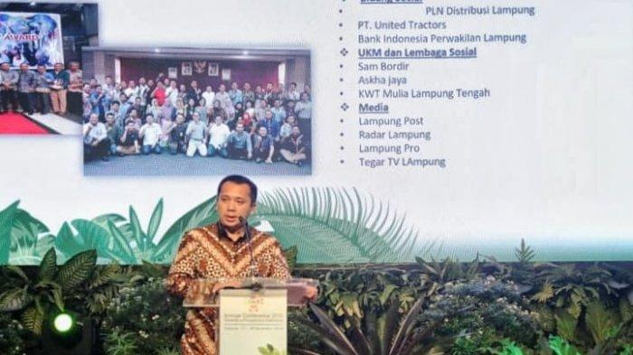 Jadi Narasumber SDGs Tingkat Nasional , Gubernur Ridho Sampaikan Kiat Lampung Hadapi Tantangan