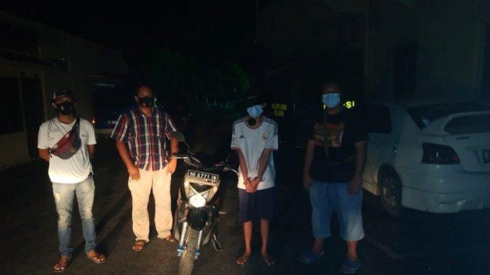 Jadi Penadah Motor Curian, Warga Bandar Lampung Dibekuk Sat Reskrim Polres Lampung Utara
