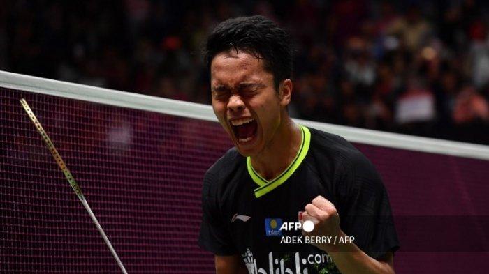 JADWAL Badminton Olimpiade Tokyo 2020, Anthony Ginting Terbiasa dengan Tekanan