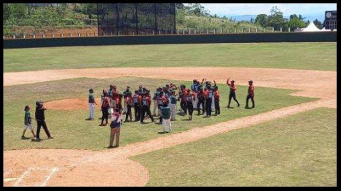 JADWAL Baseball Putra PON XX Papua 2021 Lampung vs Banten Kamis 30 September 2021