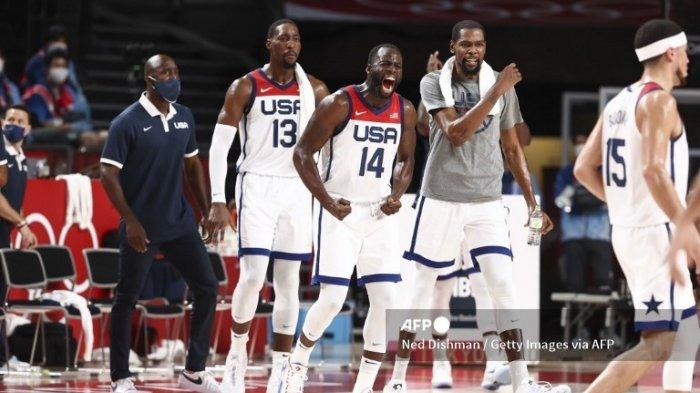Jadwal Basket Olimpiade Tokyo 2020, Laga Final Prancis Vs Amerika Serikat