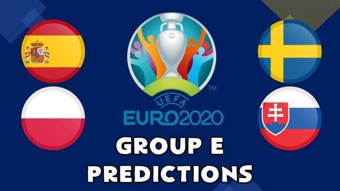 Jadwal, Prediksi dan Kekuatan Tim di Grup E Euro 2020, Polandia Akan Jadi Tantangan Terberat Spanyol