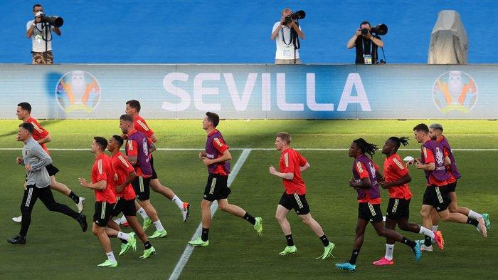 JADWAL Euro 2020 Babak 16 Besar, Belgia vs Portugal Senin Dini Hari di RCTI