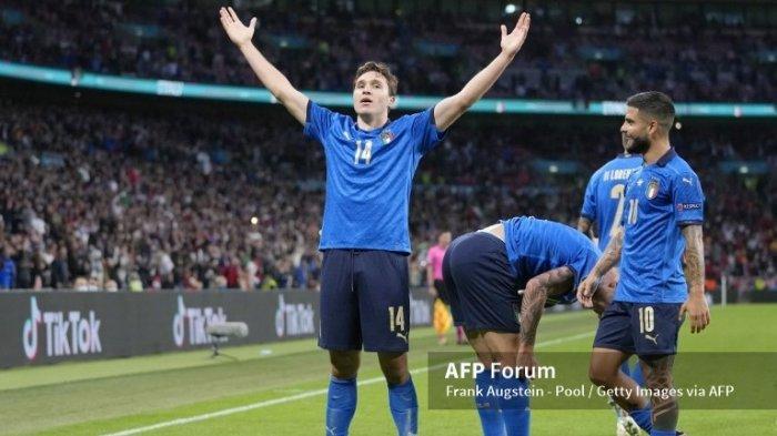 Ilustrasi. Jadwal Euro 2020, Berikut hasil semifinal Euro 2020 Italia vs Spanyol, dimana Federico Chiesa, menjadi pemain terbaik laga Italia melawan Spanyol.