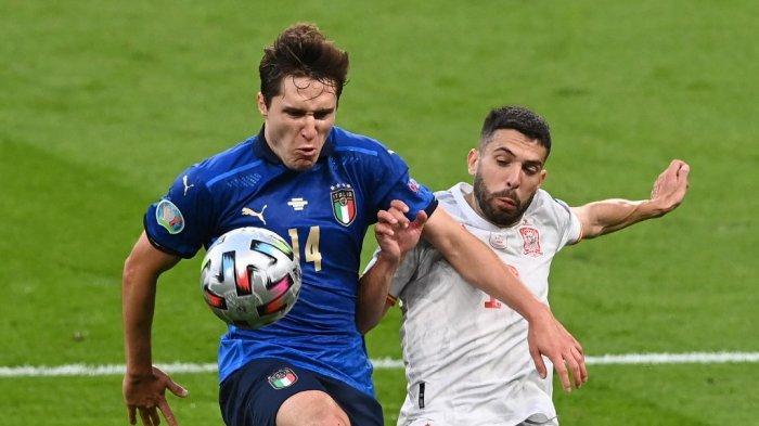 Jadwal Euro 2020, Perdiksi Susunan Pemain Italia vs Inggris di Final