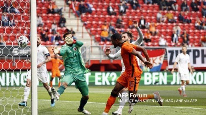 Ilustrasi. Simak jadwal Euro 2020, pada 21 Juni 2021, berikut prediksi susunan pemain Makedonia Utara vs Belanda di laga ketiga dalam jadwal lanjutan fase Grup C.