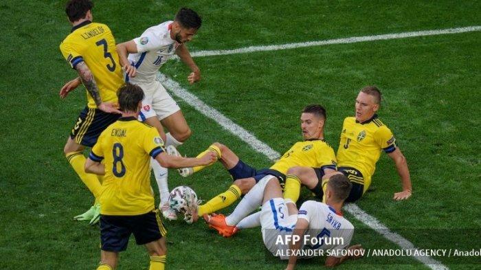 Jadwal Euro 2020 Grup E, Head To Head Swedia vs Polandia