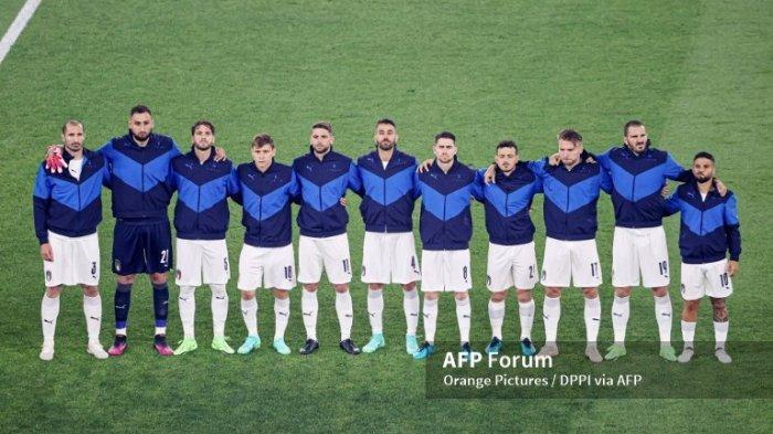 JADWAL Piala Eropa 2021 Italia vs Swiss 17 Juni 2021, Gli Azzurri Pernah 7 Kali Kalah