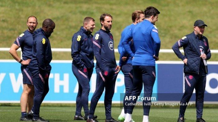 Jadwal Euro 2020 Inggris vs Denmark, Gareth Southgate tak Ingin Timnya Kecewa di Semifinal