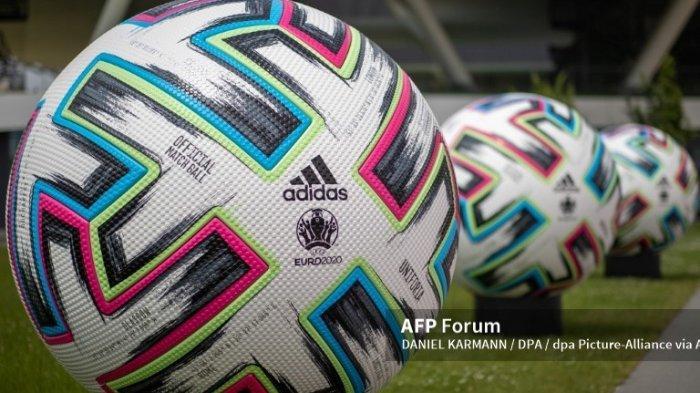 Ilustrasi, jadwal Euro 2021 adapun bola yang digunakan pada Piala Eropa bernama Uniforia.