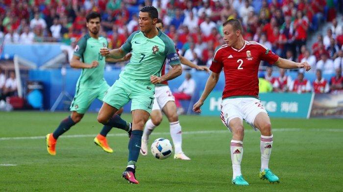 LINK LIVE Streaming Piala Eropa 2021 Hungaria vs Portugal Malam Ini di Mola TV dan RCTI