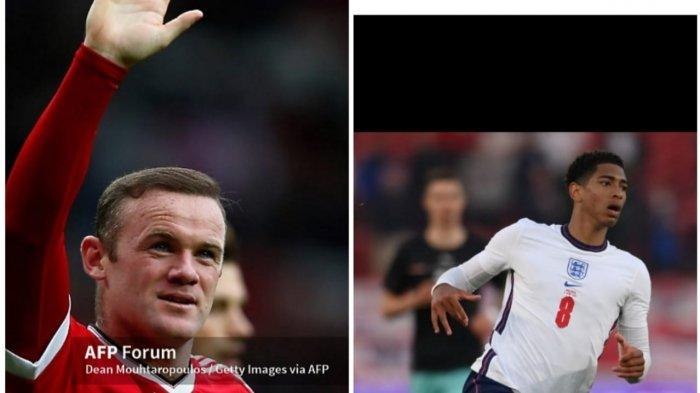 Jadwal Euro 2021, Wayne Rooney Pemegang Rekor Pemain Termuda Kini Disamai Jude Bellingham