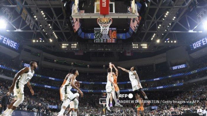 Jadwal Final NBA 2021 Bucks vs Suns, Game Ke-5 Digelar di Talking Stick Resort Arena