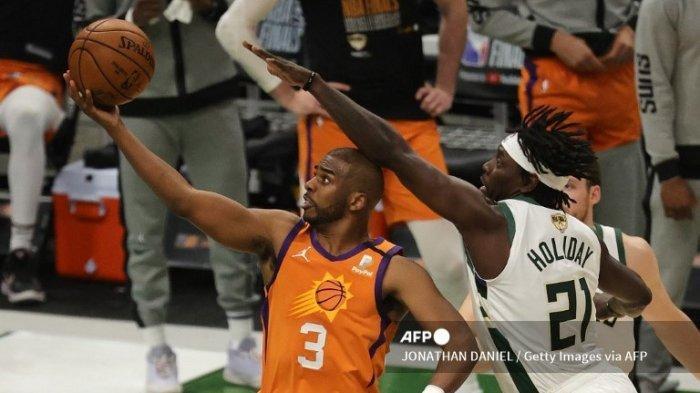 Jadwal Final NBA 2021 Bucks vs Suns, Prestasi Chris Paul Belum Lengkap Tanpa Gelar Juara