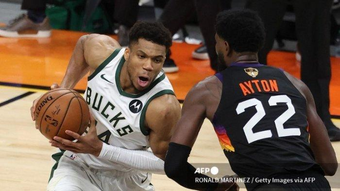 Final NBA 2021 Suns vs Bucks, Selangkah Lagi Milwaukee Bucks Juara, Laga Kandang di Game Ke-6