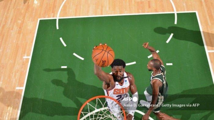 JADWAL Final NBA 2021 Suns vs Bucks, Deandre Ayton Tak Kendurkan Serangan di Game 4