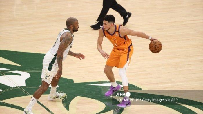 Final NBA 2021 Suns vs Bucks, Devin Booker Gagal Bawa Phoenix Suns Terhindar dari Kekalahan