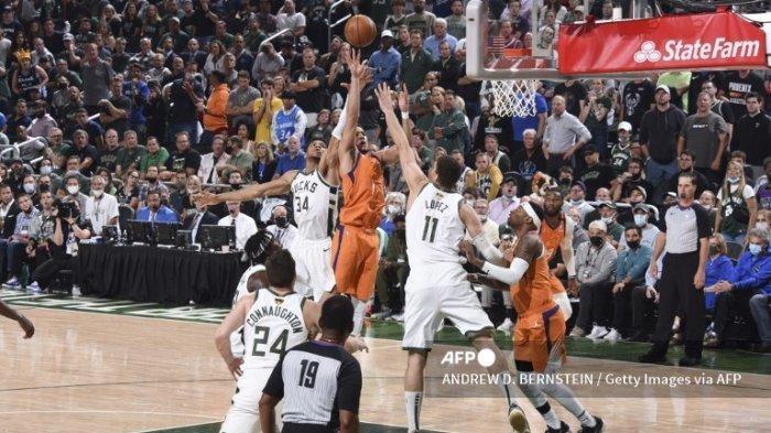 Jadwal Final NBA 2021 Suns vs Bucks,  Memasuki Game kelima Poin Sama Kuat