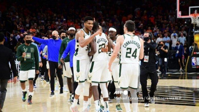 Jadwal Final NBA 2021 Suns vs Bucks, Rabu 21 Juli 2021