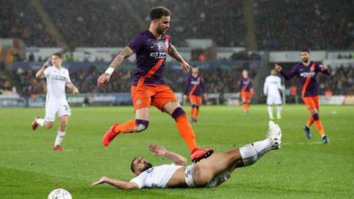 Jadwal Lengkap Piala FA Putaran Lima, Swansea vs Manchester City - Everton vs Tottenham