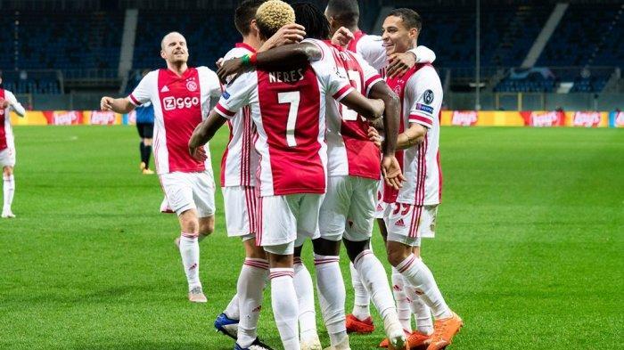Ilustrasi. Jadwal Liga Champions Ajax Amsterdam vs Atalanta akan digelar di Amsterdam Arena, Kamis (10/12/2020) dini hari WIB.
