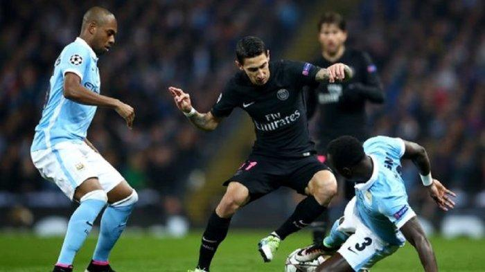 Live Streaming Man City vs PSG Semifinal Liga Champions