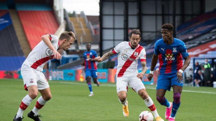 Jadwal Liga Inggris Head to Head Southampton vs Crystal Palace