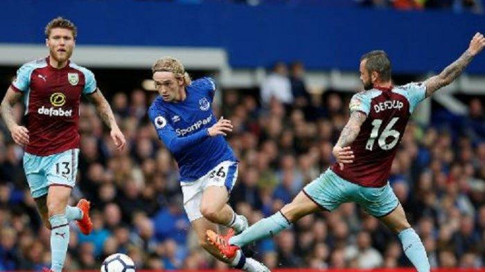 Link Live Streaming Liga Inggris Everton vs Burnley di Mola TV