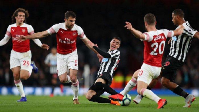 Jadwal Liga Inggris - Prediksi dan Head to Head Newcastle United vs Arsenal