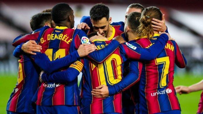 Jadwal Liga Spanyol Barcelona vs Valladolid, Kans Barca Dekati Atletico