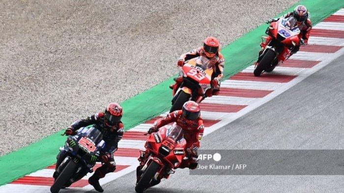 JADWAL MotoGP 2021 Amerika, Francesco Bagnaia Sebut Sulit Kejar Poin Fabio Quartararo