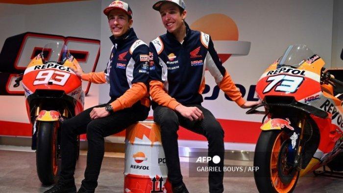 Jadwal MotoGP 2021 Aragon, Alex Marquez Berani Bertaruh untuk Kakaknya Marc Marquez