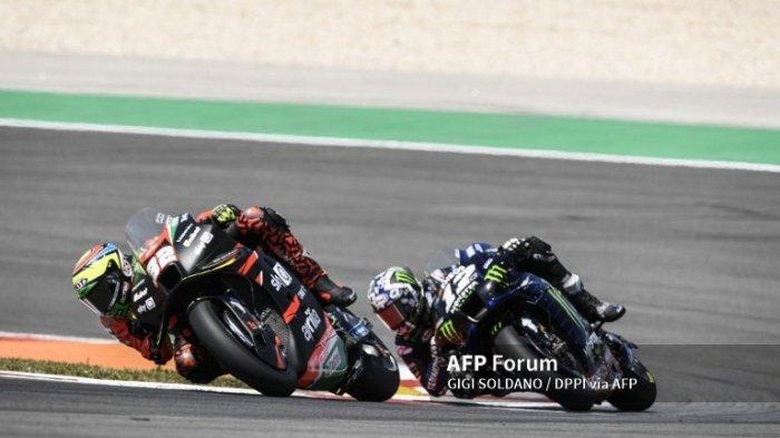 MotoGP 2021 Aragon, Maverick Vinales Lakukan Uji Coba Tertutup Bersama Aprilia