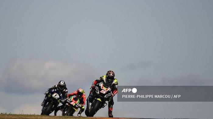 MotoGP 2021 Aragon, Maverick Vinales Uji Coba Tertutup