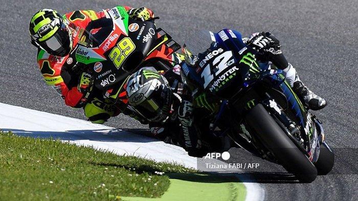 JADWAL MotoGP 2021 Aragon, CEO Aprilia Yakin Maverick Vinales Berikan yang Terbaik