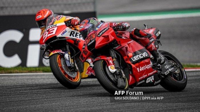 Jadwal MotoGP 2021 Aragon, Penilaian Bagnaia Terhadap Marquez Meleset