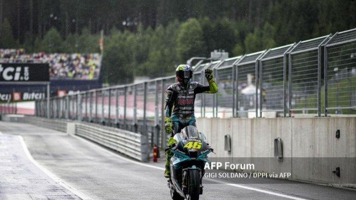 Jadwal MotoGP 2021 Aragon, Rossi Salahkan Ban Atas Kegagalannya di Silverstone