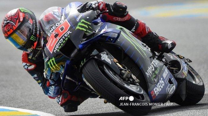 JADWAL MotoGP 2021 di Italia, Fabio Quartararo Stres di Prancis Trek Berubah dari Licin ke Basah