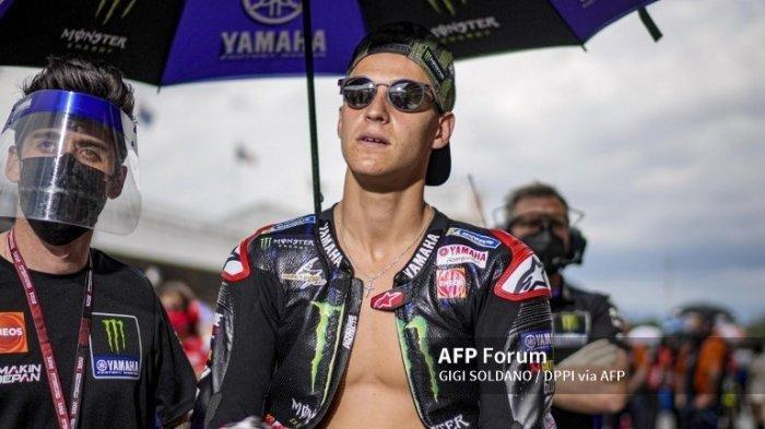 JADWAL MotoGP 2021 Jerman,  Quartararo Alami Insiden Wearpeak Terbuka di Catalunya