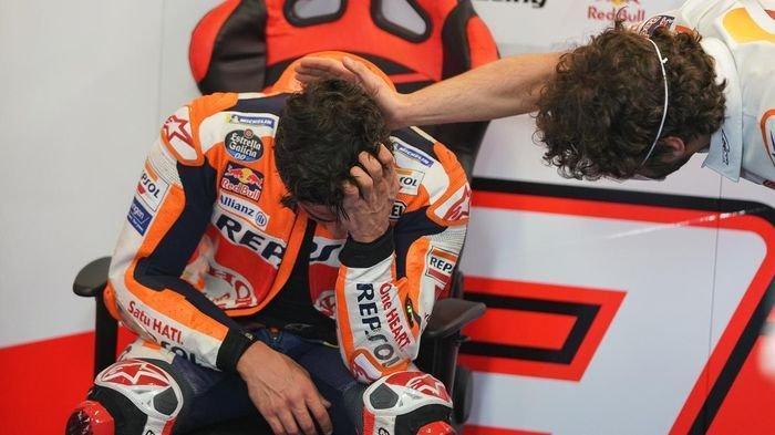 Jadwal MotoGP 2021, Marc Marquez Ketakutan Seusai Lihat Insiden 3 Pebalap
