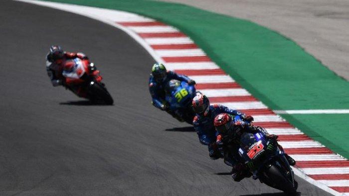 Jadwal MotoGP 2021, Quartararo Juara GP Portugal, Rossi Terjatuh, Marquez Ketujuh