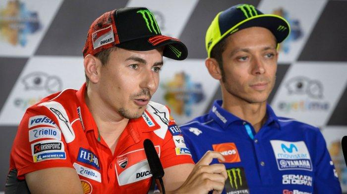 Jadwal MotoGP 2021, Rossi Belum Mampu Tampil Kompetitif, Begini Penjelasan Lorenzo
